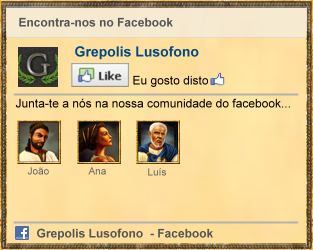 Grepolis PT no facebook
